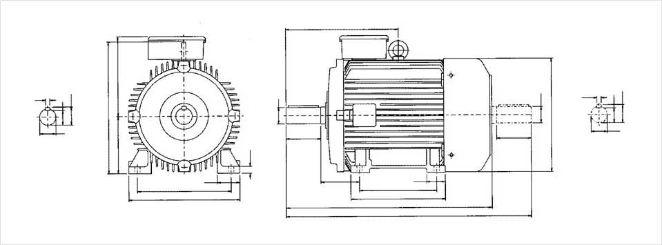 Electric Motors Technical Layout